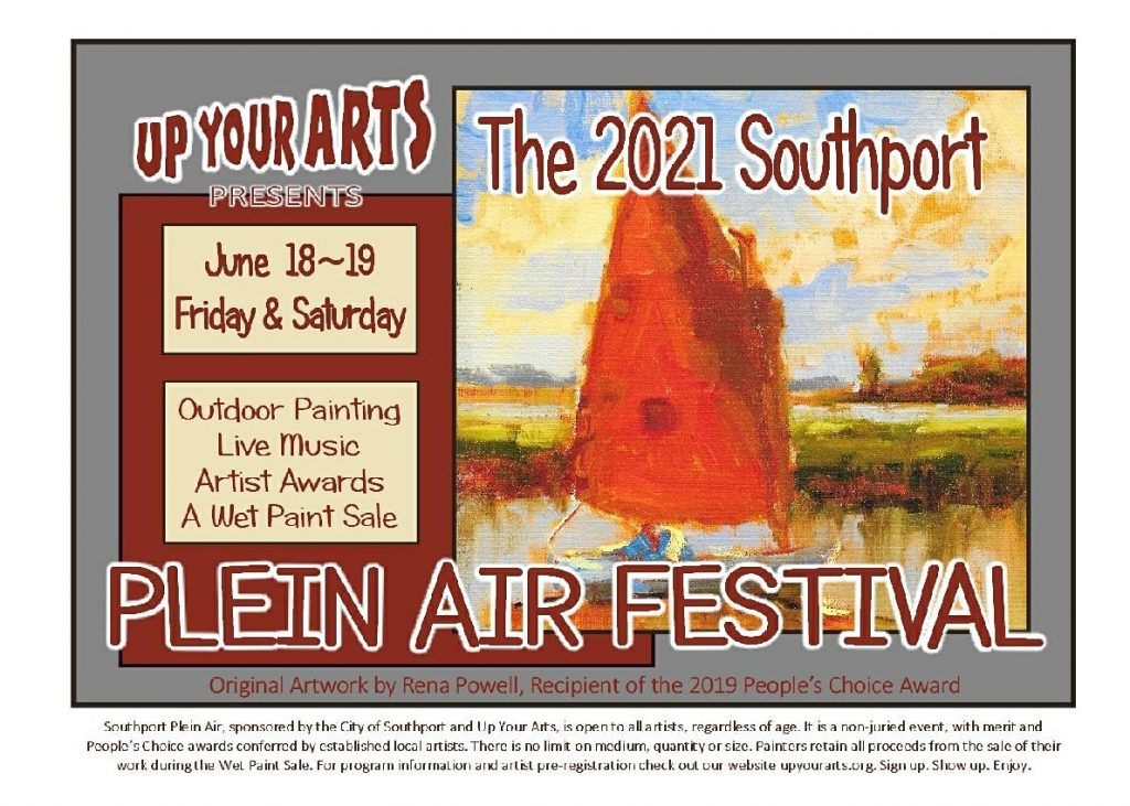 Southport Plein Air 2021 Poster